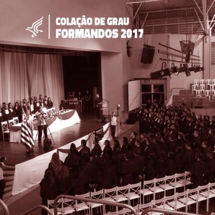 Cerimônias de Colação de Grau dos formandos desse ano já tem data marcada.