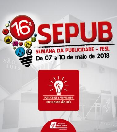 Confira a programação da 16ª SEPUB!