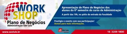 Curso de Administração promove Workshop de Plano de Negócios.