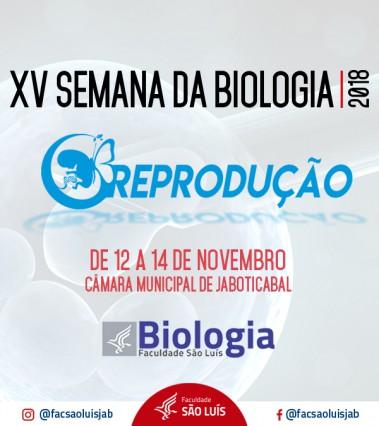 XV SEMANA DE BIOLOGIA