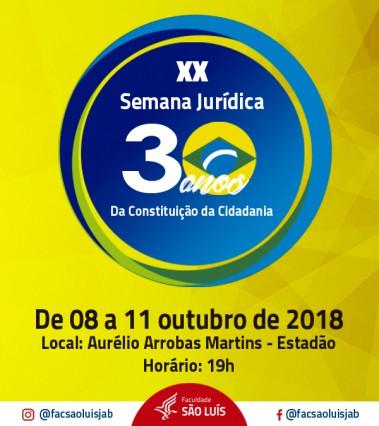 XX Semana Jurídica