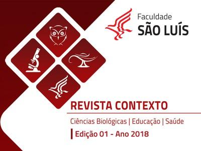 Revista Contexto - Ciências Biológicas, Educação e Saúde.