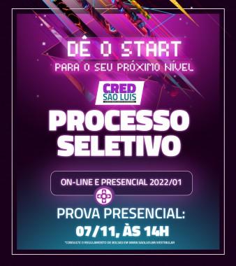Processo Seletivo Online e Presencial 2022/1
