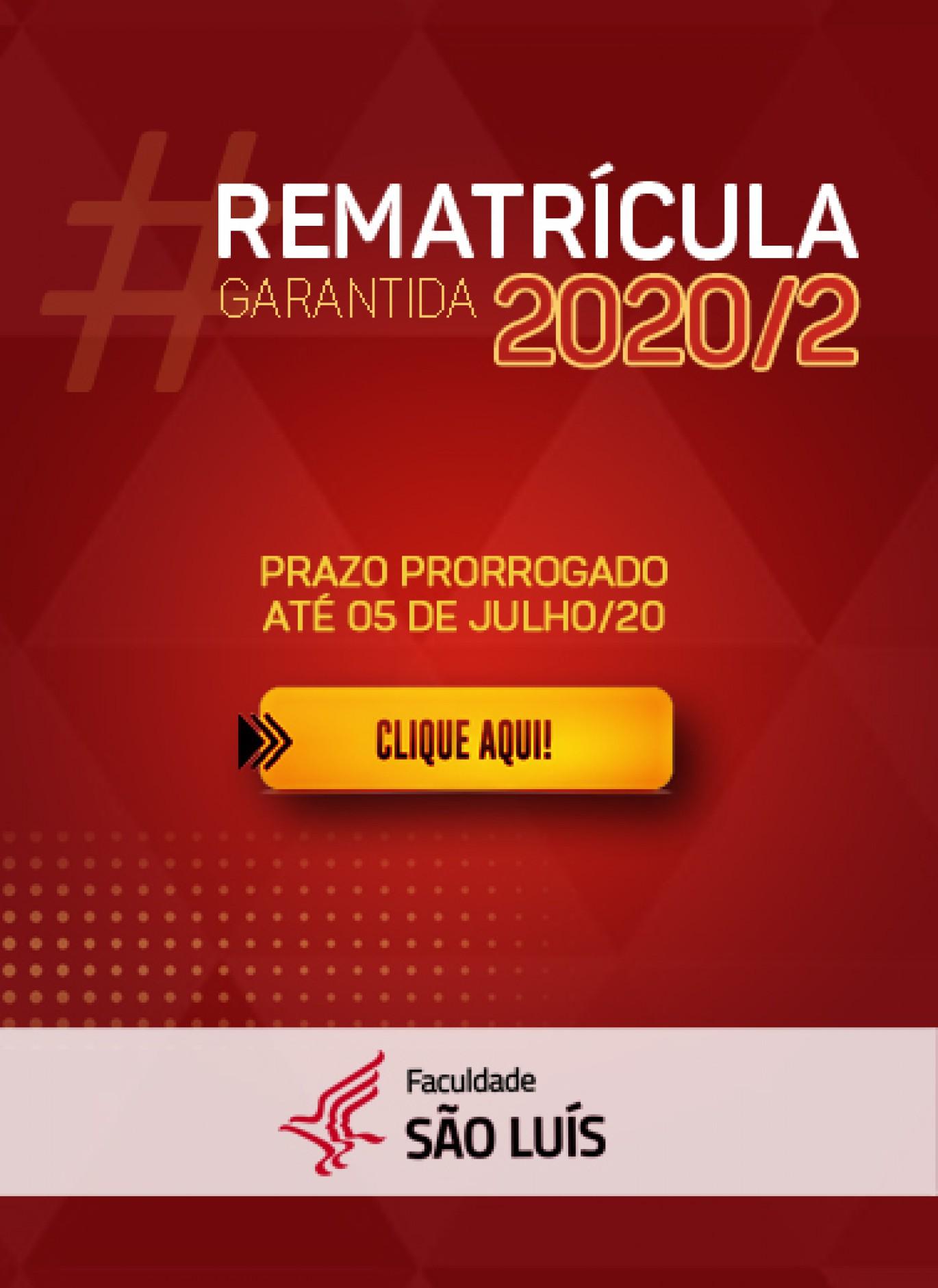 REMATRÍCULA 2020/2