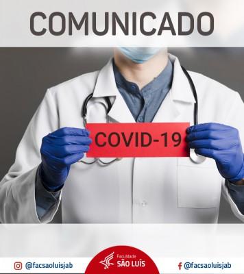 2º Comunicado: COVID -19 / CORONAVÍRUS