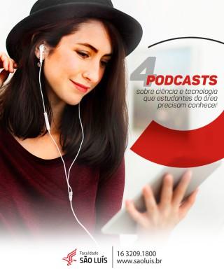 4 podcasts sobre ciência e tecnologia que estudantes da área precisam conhecer