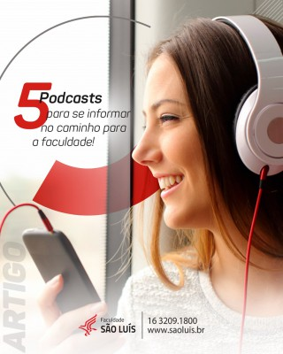 5 podcasts para se informar no caminho para a faculdade!