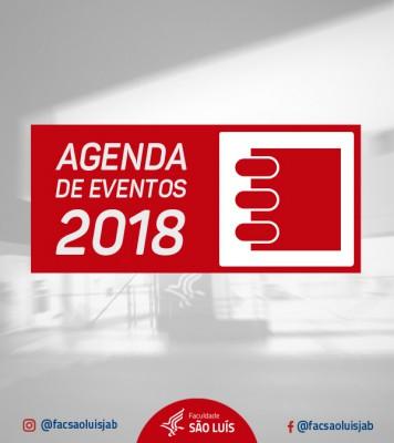 CALENDÁRIO EVENTOS - 2018