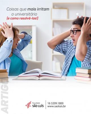 Coisas que mais irritam os universitários (e como resolvê-las!)