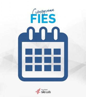 Cronograma de inscrições - FIES 2020/2