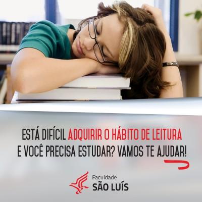 Está difícil adquirir o hábito de leitura e você precisa estudar? Vamos te ajudar!