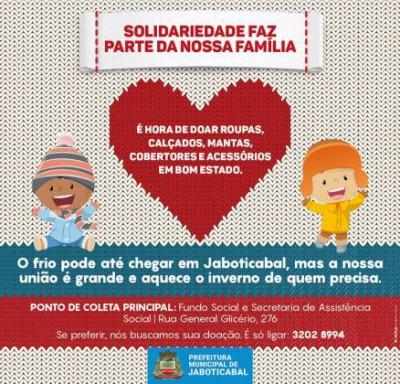 Faculdade São Luís participa da Campanha do Agasalho!