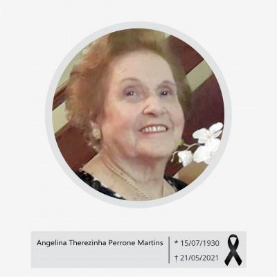 Homenagem para Dona Angelina Therezinha Perrone Martins