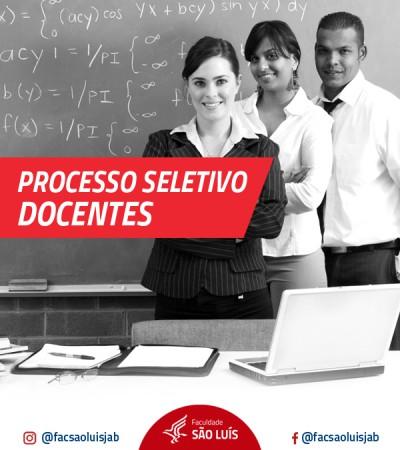 PROCESSO SELETIVO DOCENTE 2018