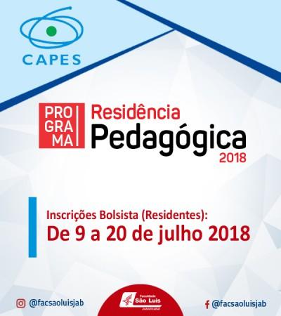 Programa Residência Pedagógica - CAPES