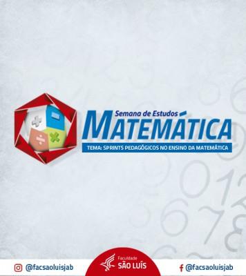 SEMANA DE ESTUDOS DA MATEMÁTICA