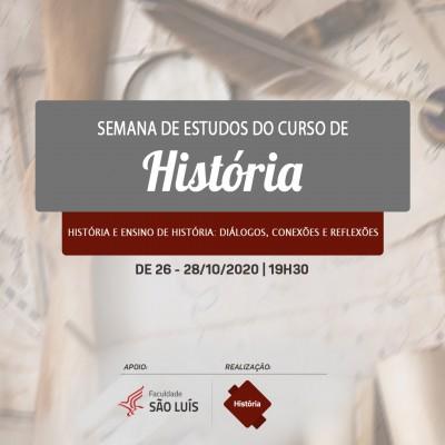 Semana de Estudos do Curso de História - 2020