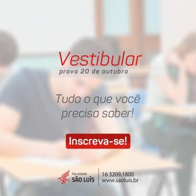 Vestibular 2020 da Faculdade São Luís: tudo o que você precisa saber!