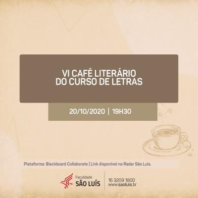 VI Café Literário