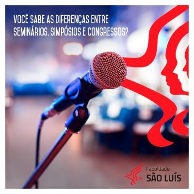 Você sabe as diferenças entre Seminários, Simpósios e Congressos? Nós vamos esclarecer!