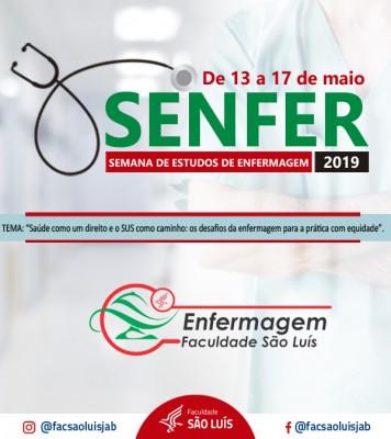 XIX SENFER - Semana de Estudos do Curso de Enfermagem