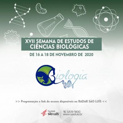 XVII Semana de Estudos do Curso de Ciências Biológicas